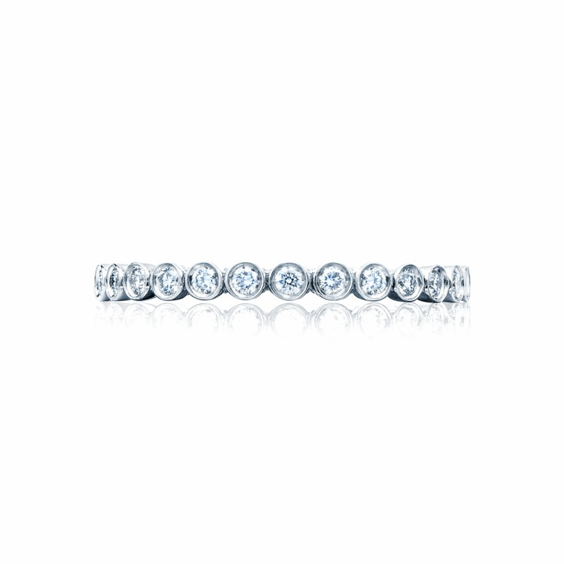 Tacori Sculpted Crescent Collection | Bezel Set Diamond Woman's Band | Style No. 001-760-03098