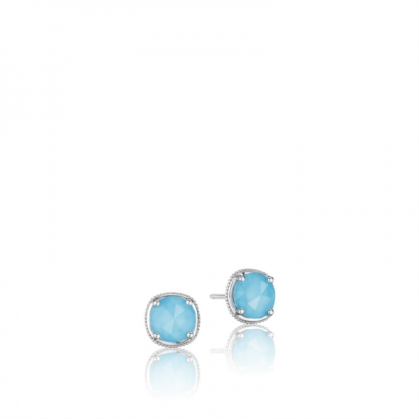 Tacori Island Rains Collection | 18K Yellow Gold Quartz & Turquoise Earrings | Style No. 001-761-00972 SE15405