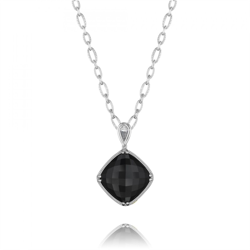 Tacori City Lights Collection | Black Onyx Cushion Setting & 30