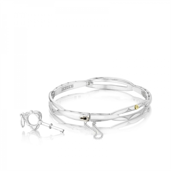 Tacori | Promise Bangle made from Yellow Gold & Sterling Silver | Style No. 001-761-00715 SB177-M