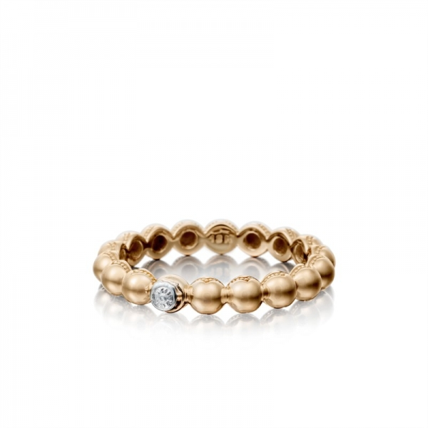 Tacori Sonoma Mist Collection | Rose Gold Beaded Dome Ring | Style No. 001-761-00817 SR191P
