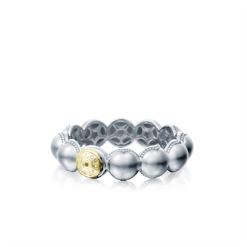 Tacori Sonoma Mist Collection | Beaded Sterling Silver Ring | Style No. 001-761-00825 SR192