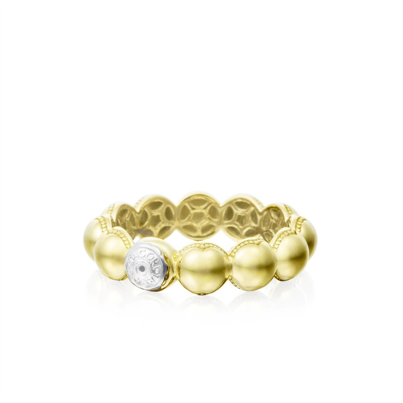 Tacori Sonoma Mist Collection | Yellow Gold Ring with White Gold Stamp | Style No. 001-761-00826 SR192Y