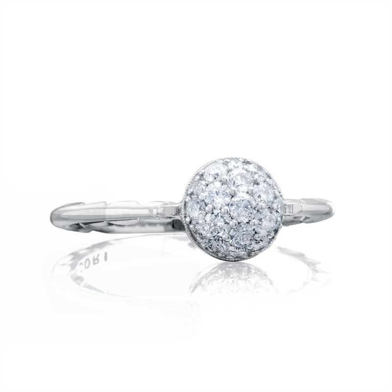 Tacori Sonoma Mist Collection | Sterling Silver Pavéé Diamond Cluster Ring | Style No. 001-761-00837 SR189