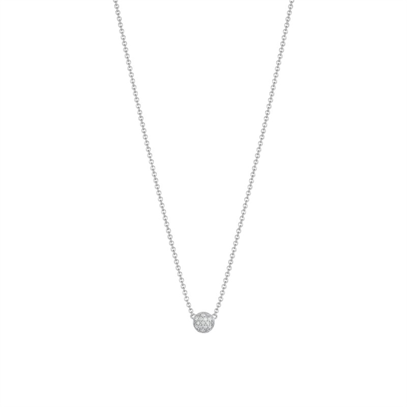 Tacori Sonoma Mist Collection | Sterling Silver Pavéé Cluster Diamond Pendant | Style No. 001-761-00842 SN195