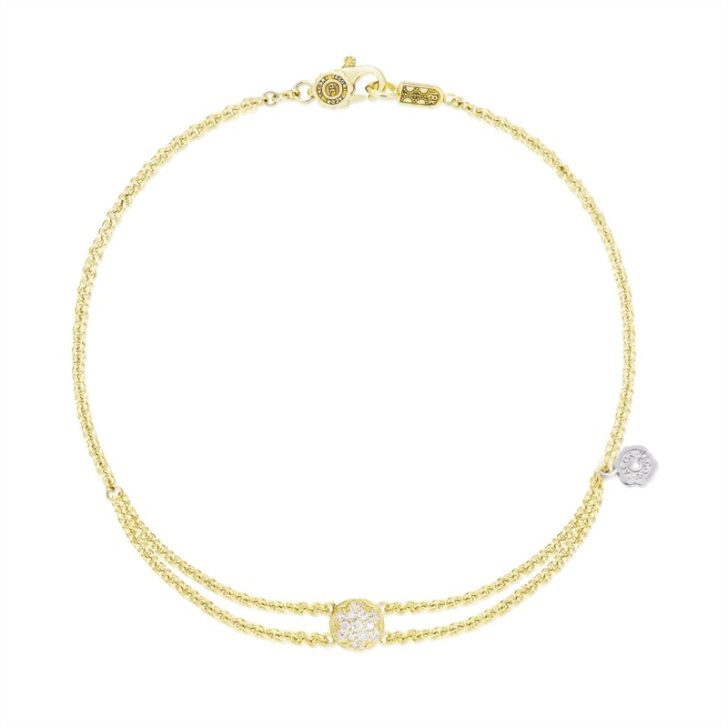 Tacori Sonoma Mist Collection | Yellow Gold Bracelet with Crescent Engraving | Style No. 001-761-00860 SB193Y