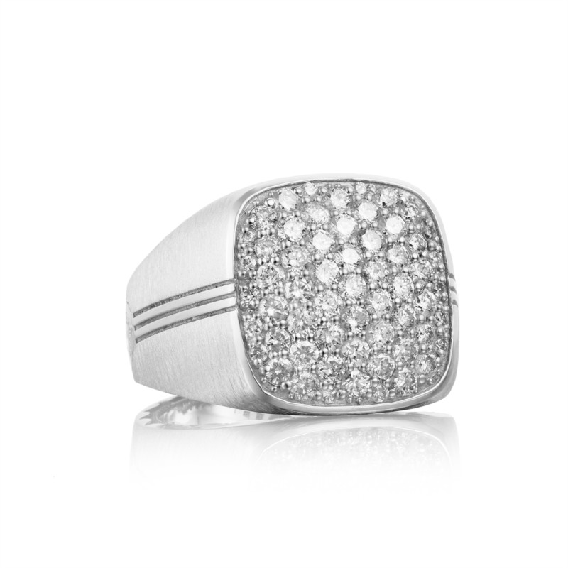 Tacori Legend Collection | Sterling Silver Ring for Him | Style No. 001-761-00867 MR101