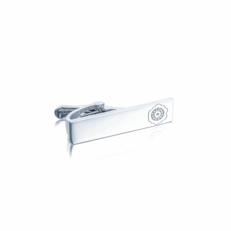 Tacori | Sterling Silver Tie Bar with Tacori Seal | Style No. 001-761-00880 MTB104