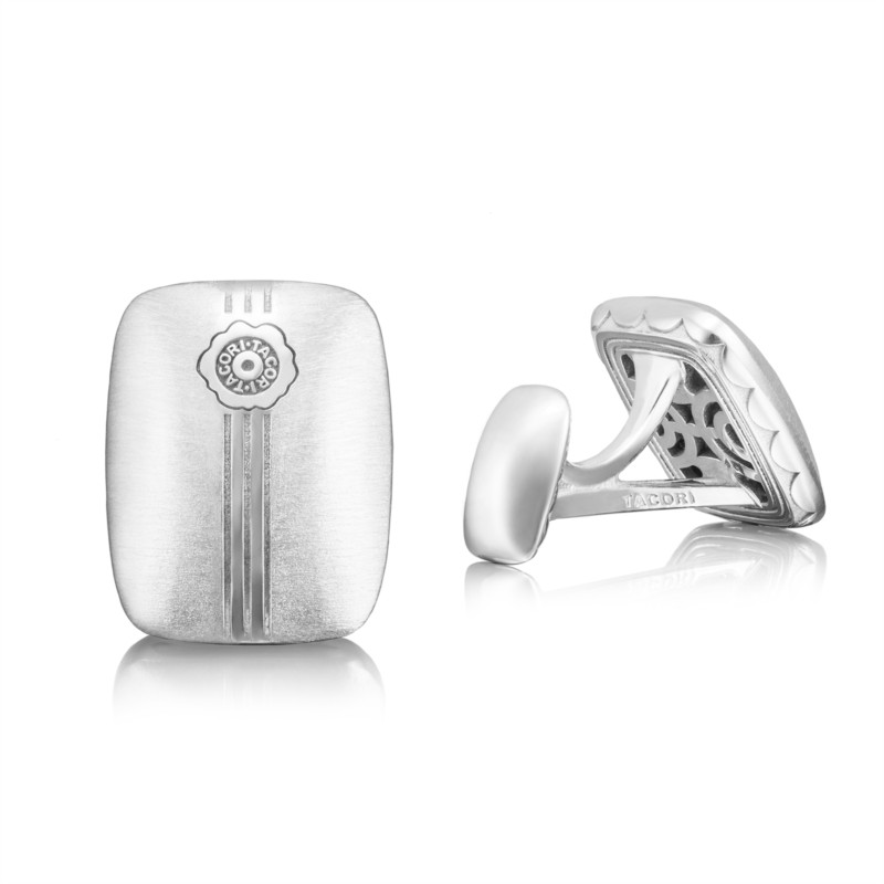 Tacori Retro Classic Collection | Sterling Silver Cuff Links | Style No. 001-761-00900 MCL106