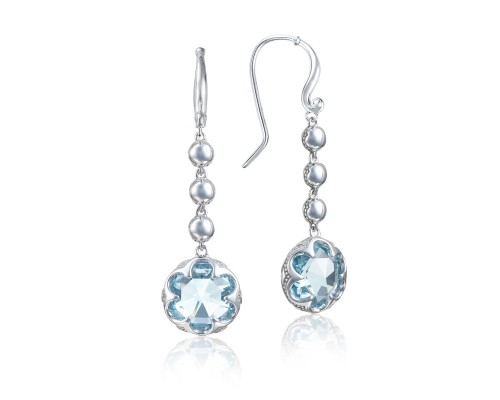 Tacori Sonoma Skies Collection | Sterling Silver & Sky Blue Topaz Drop Earrings | Style No. 001-761-01041 SE21302