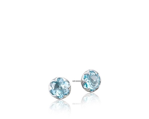 Tacori Sonoma Skies Collection | Sky Blue Topaz Drop Sterling Silver Earrings | Style no. 001-761-01044 SE20802