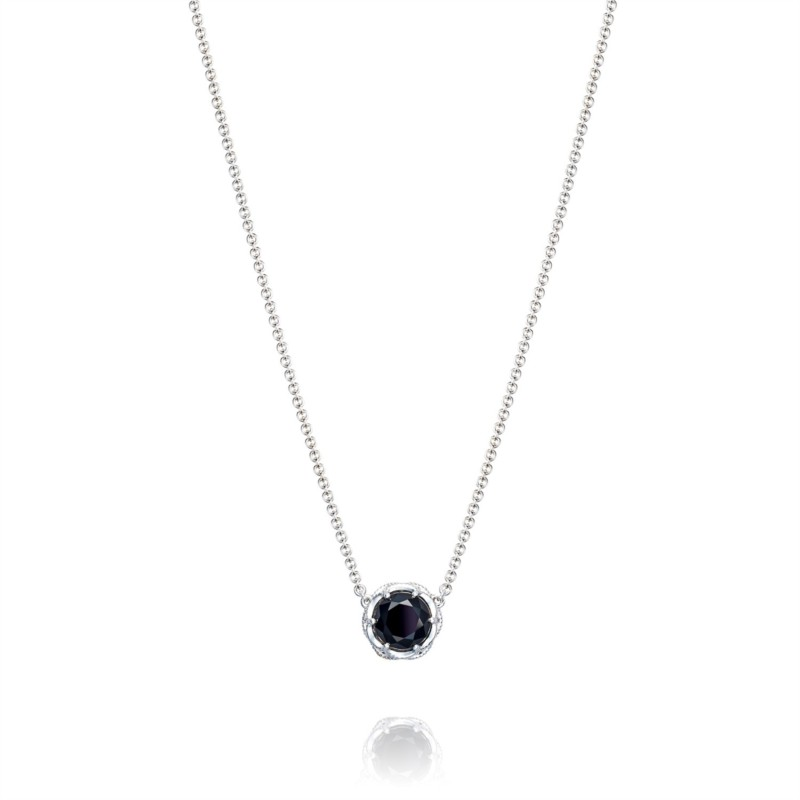Tacori Classic Rock Collection | Black Onyx & Sterling Silver Necklace | Style No. 001-761-01065 SN20419
