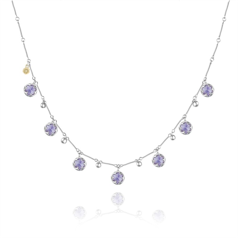 Tacori Sonoma Skies Collection | Sterling Silver Amethyst Necklace | Style No. 001-761-01070 SN20501