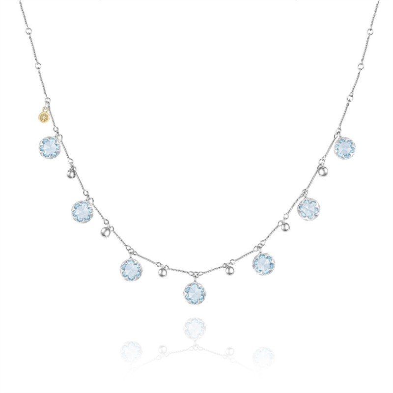 Tacori Sonoma Skies Collection | Sterling Silver Blue Topaz Necklace | Style No. 001-761-01071 SN20502