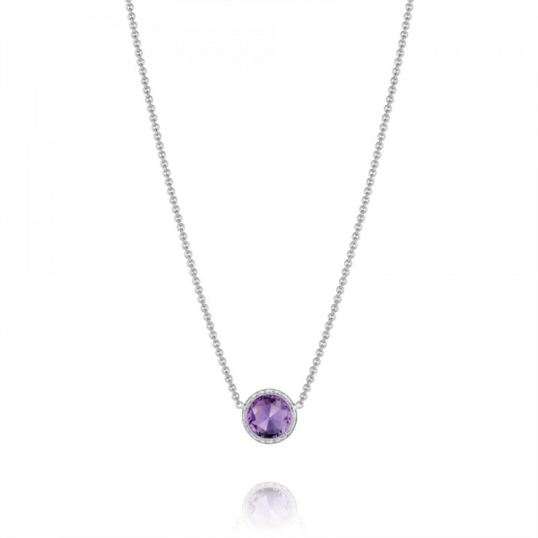 Tacori Lilac Blossoms Collection | Sterling Silver & Amethyst Necklace | Style No. 001-761-01082 SN15301