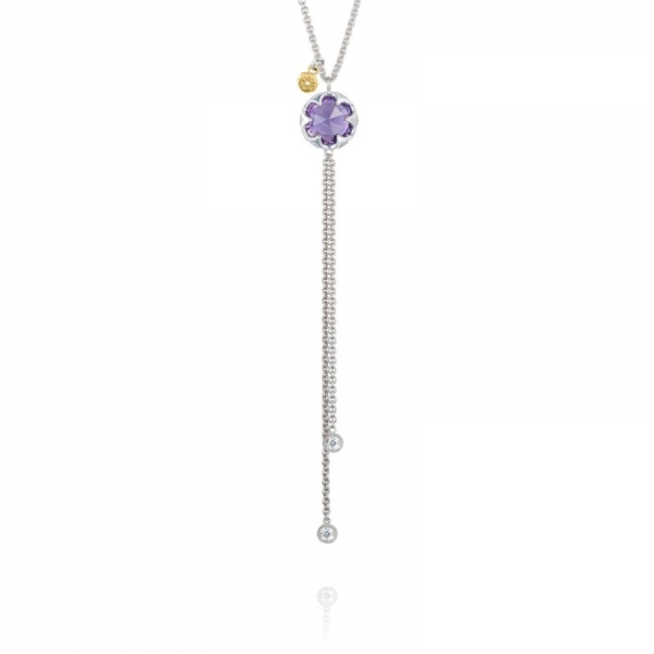 Tacori Sonoma Skies Collection | Sterling Silver & Amethyst Lariat Necklace | Style No. 001-761-01098 SN20201