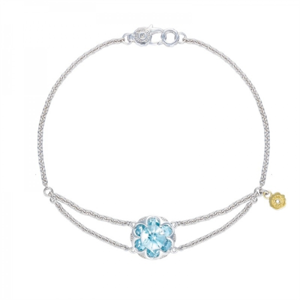 Tacori Sonoma Skies Collection | Sterling Silver Sky Blue Topaz Split Chain Bracelet | Style No. 001-761-01109 SB19902
