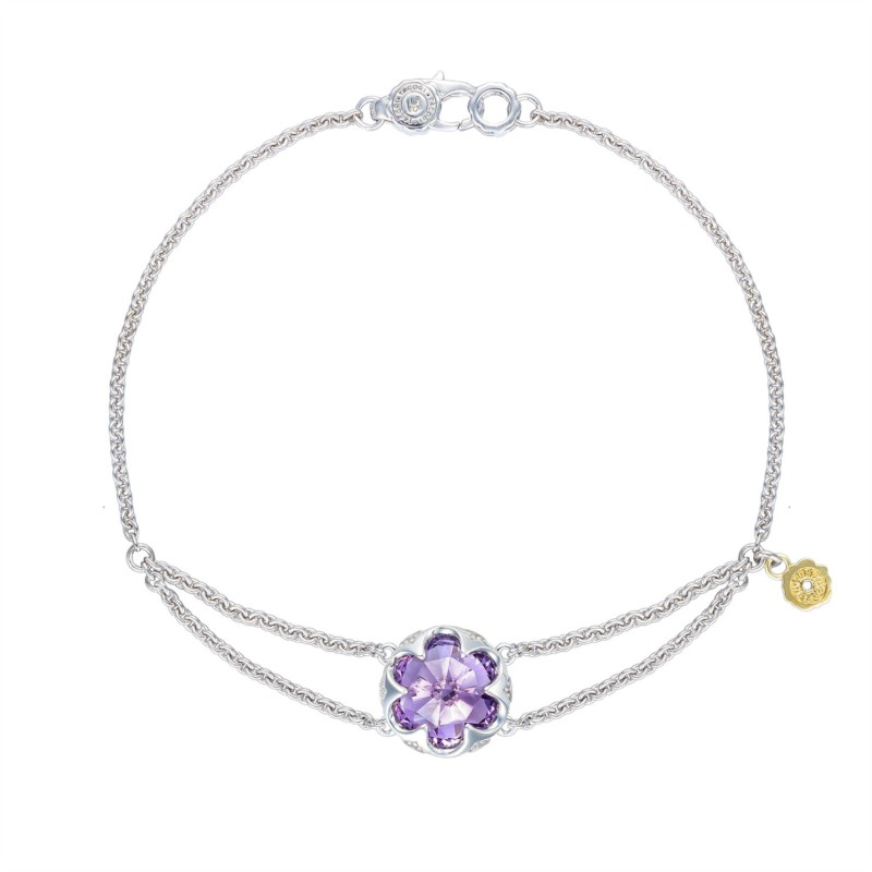Tacori Sonoma Skies Collection | Sterling Silver & Amethyst Split Chain Bracelet | Style No. 001-761-01113 SB19901