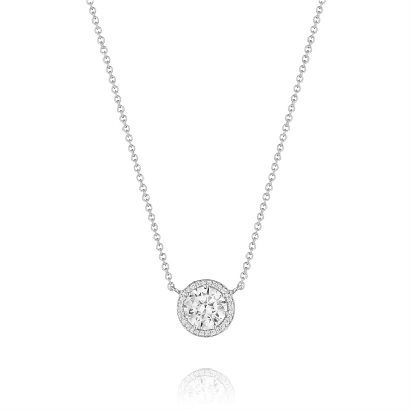 Tacori Dantela Collection | Diamond Halo Pendant | Style No. 001-764-00004
