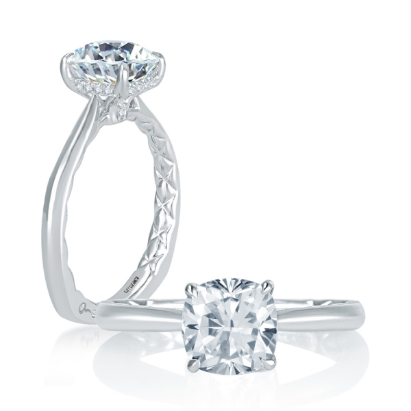 Solitaire - A. JAFFE Engagement Ring