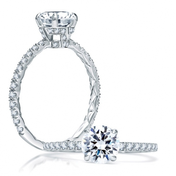 Classic - A. JAFFE Engagement Ring