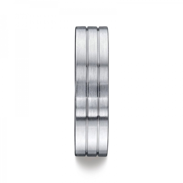 Benchmark | 14K White Gold Men's Wedding Ring | Style No. 001-709-01271 CF66334