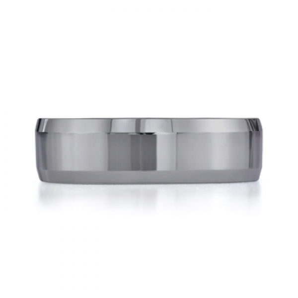 Benchmark | 7mm Palladium Beveled Edge Wedding Ring | Style No. 001-709-01929 CF67426