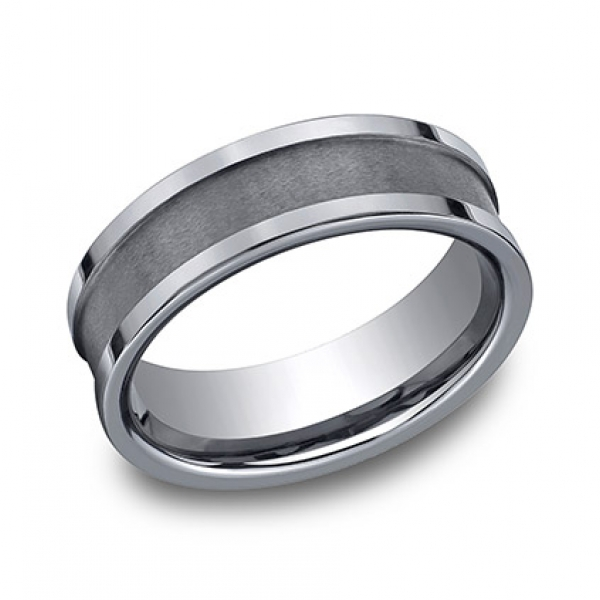 Benchmark | Tungsten 7mm Wedding Ring | Style No. 001-709-01898 CF67450TG