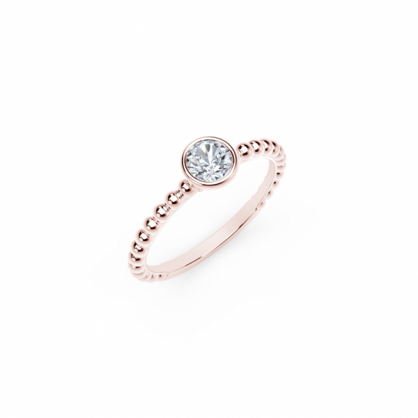 Engagement Rings - Forevermark Tribute Diamond Ring - image 2