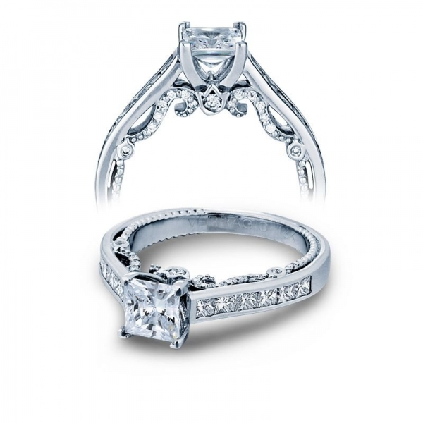 Insignia Collection princess diamond engagement ring INS-7064P
