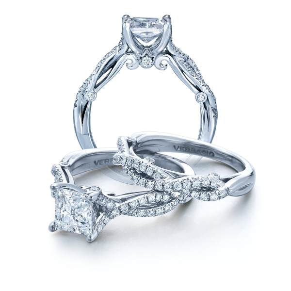Princess Insignia Diamond Engagement Ring for Her INS-7050P
