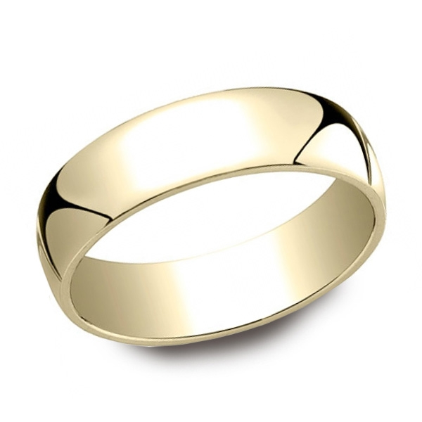 Benchmark | 14K Yellow Gold 6mm Comfort Fit Ring | Style No. 001-709-01515 LCF16014KY08