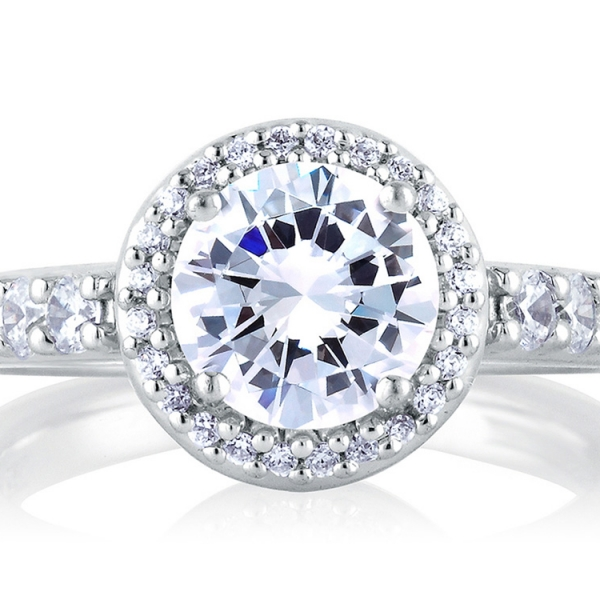 ME1459-A.jpg A. JAFFE Halo Diamond Ring
