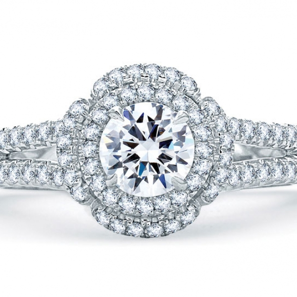 ME1862Q-A.jpg A. JAFFE Halo Diamond Ring