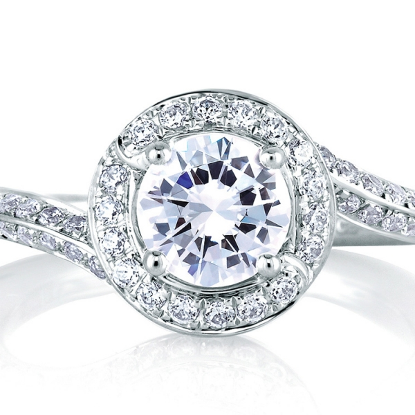 MES322-A.jpg A. JAFFE Halo Diamond Ring