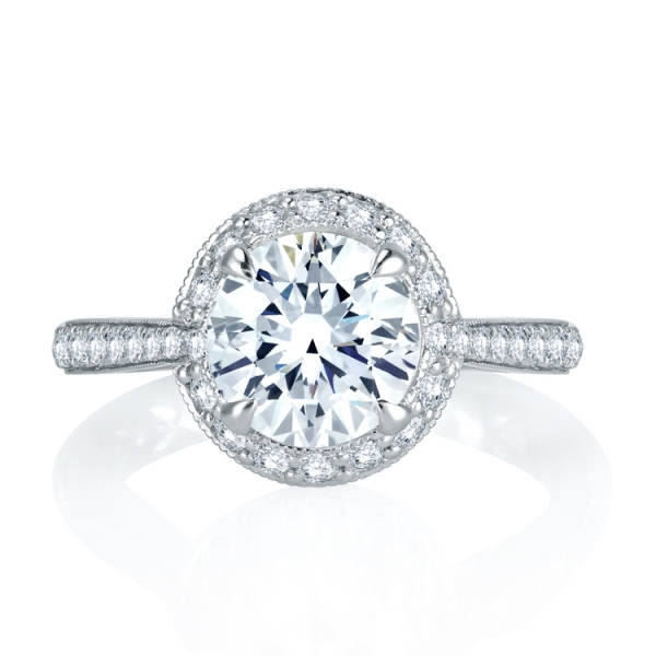 MES744Q-A.jpg A. JAFFE Halo Diamond Ring