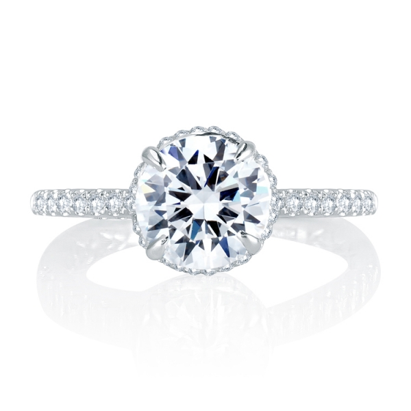 MES766Q-A.jpg A. JAFFE Halo Diamond Ring