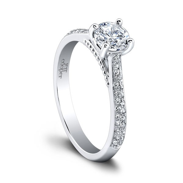 Jeff Cooper | 14K White Gold Pavé Diamond Setting | Style No. 001-730-01253 RP1505/R5.2c14