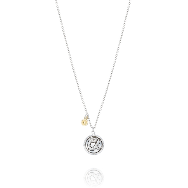 Tacori Love Letters Collection | Sterling Silver Pavéé Diamond A Initial Pendant | Style No. 001-761-01068 SN19