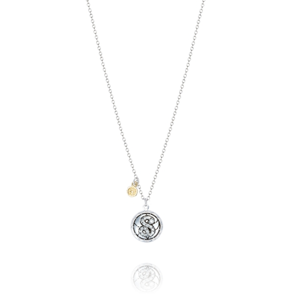 Tacori Love Letters Collection | Sterling Silver Pavéé Diamond S Initial Pendant | Style No. 001-761-01067 SN19