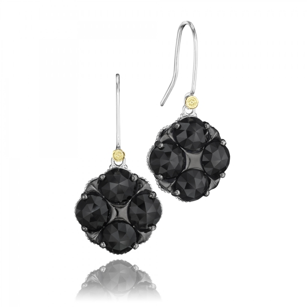Tacori City Lights Collection | Sterling Silver Black Onyx Dangle Earrings | Style No. 001-761-00599 SE16619
