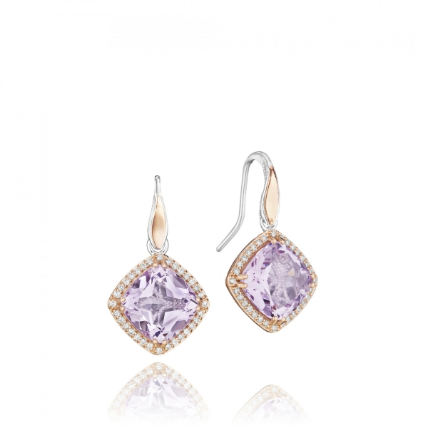 Tacori Lilac Blossoms Collection | Rose Gold & Rose Amethyst Earrings | Style No. 001-761-00639 SE180P13