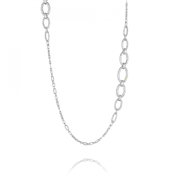 Tacori City Lights Collection | 18K Yellow Gold and Sterling Silver Thick Chain Necklace | Style No. 001-761-00630 SN175Y