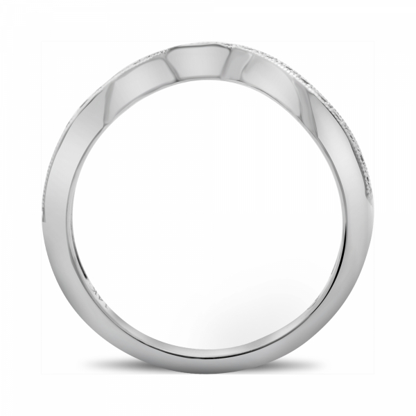 Shop our collection of women's wedding bands or custom design your own!  Eco-friendly and ethically sourced. Class - image #3