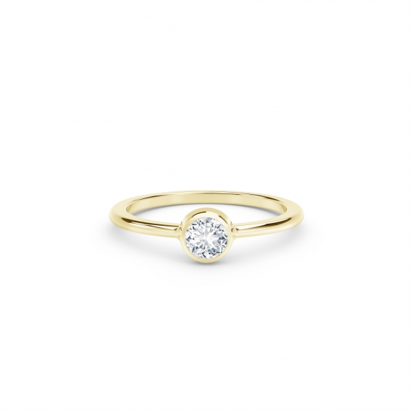 Forevermark Tribute Collection - The Forevermark Tribute Collection Classic Bezel Stackable Ring