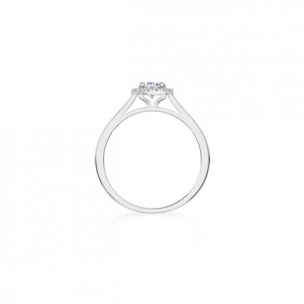 Forevermark - Forevermark Halo Diamond Engagement Ring - image 2