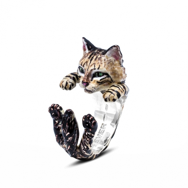 Cat Fever - Norwegian Forest Cat Enamel Hug Ring