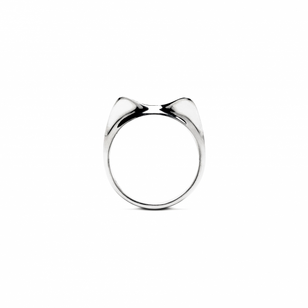Cat Fever Silver Ear Ring - Cat Fever Silver Ear Ring