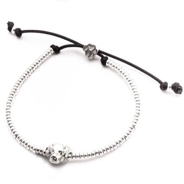 Labrador Retriever Silver Head Bracelet
