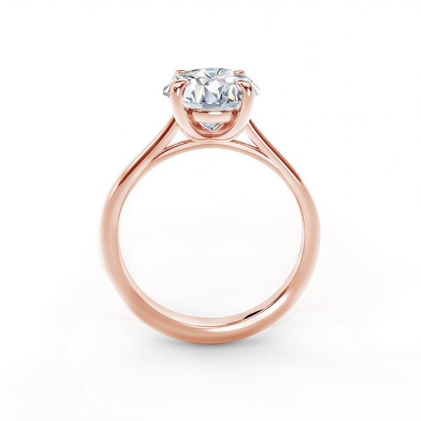 Forevermark - Forevermark New Aire Solitaire Diamond Engagement Ring - image 2